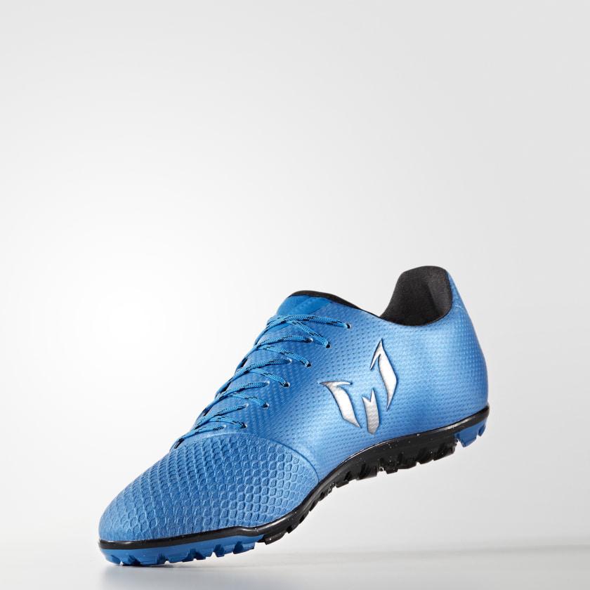 Chuteira Messi 16.3 - Society - Azul adidas  5dbec3ffdd8f9