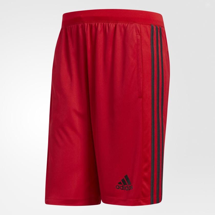 adidas-D2M-3-Stripes-Shorts-Men-039-s thumbnail 38