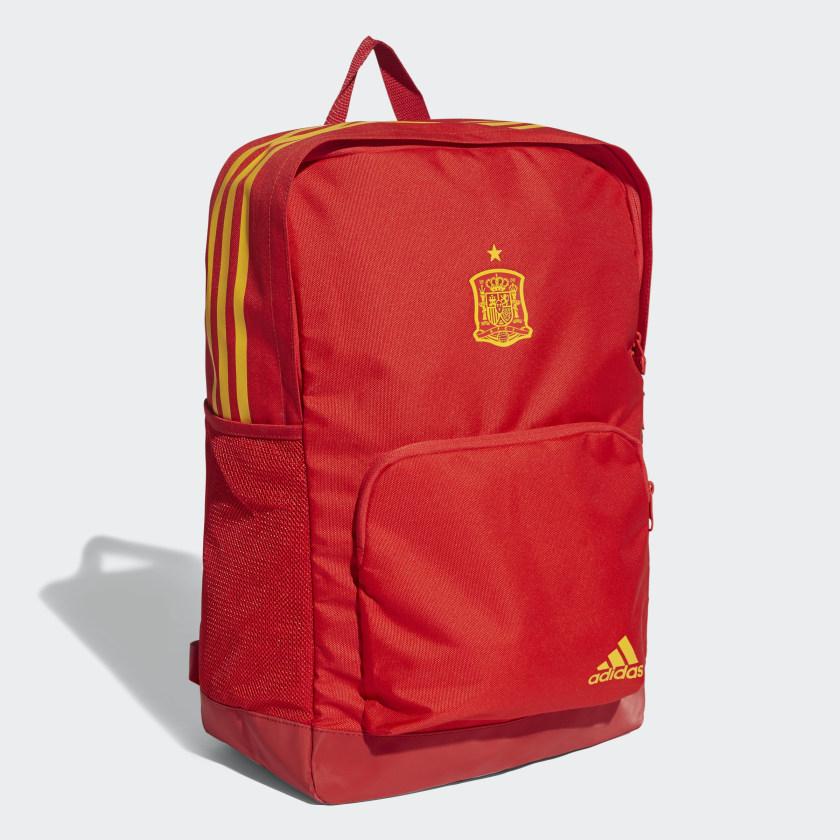 Mochila Espanha 2018 - Vermelho adidas  da6011e294990