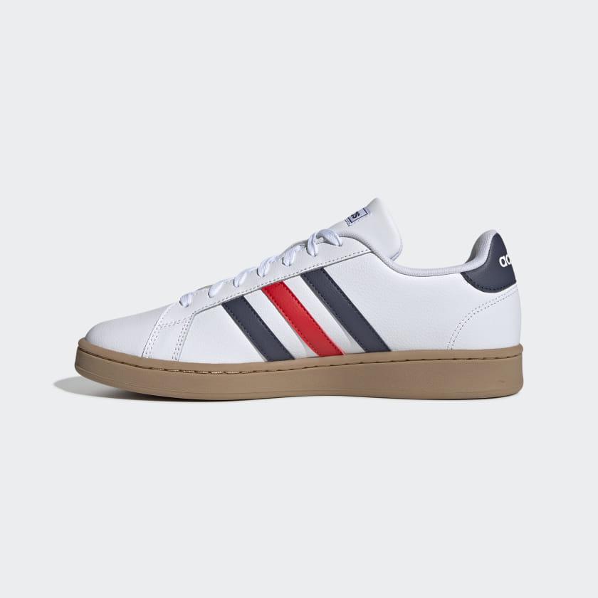 adidas-Originals-Grand-Court-Shoes-Men-039-s thumbnail 16