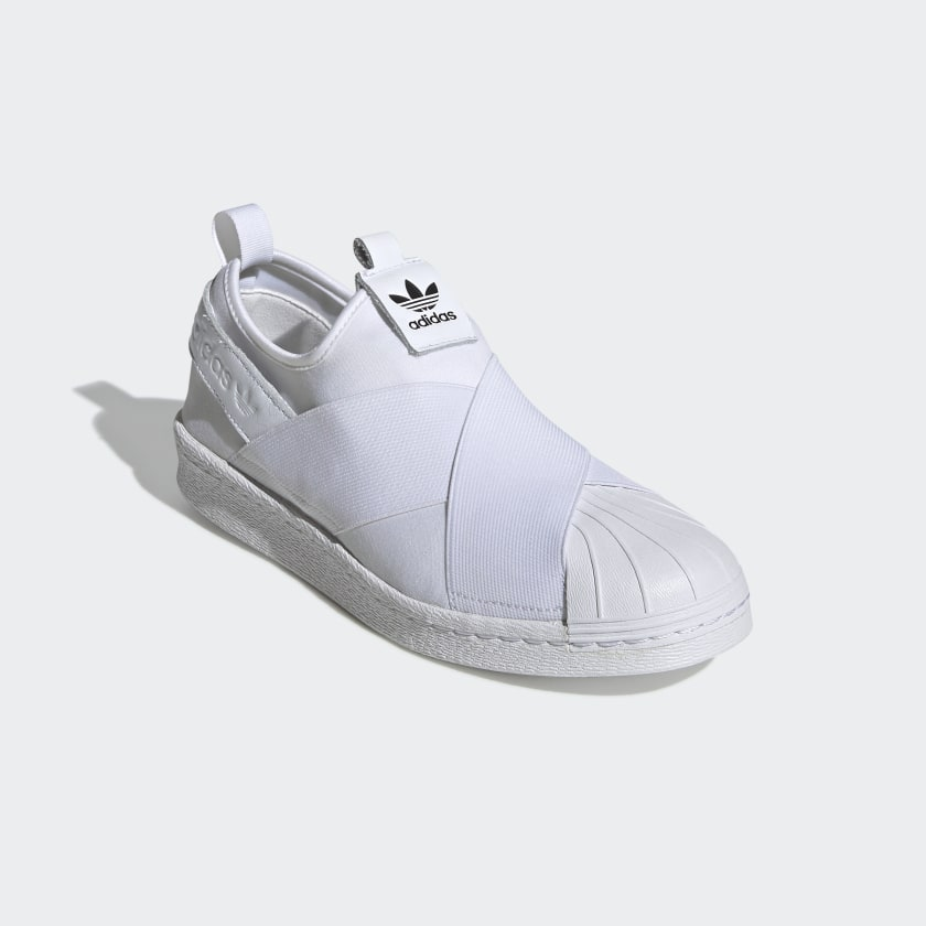 adidas Superstar Slip-on Shoes - White  7aeb489ca65b7
