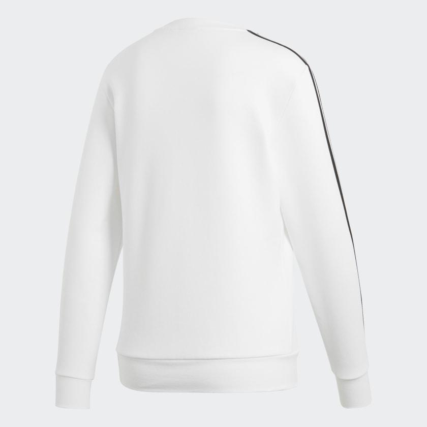 adidas-Essentials-3-Stripes-Sweatshirt-Women-039-s thumbnail 51