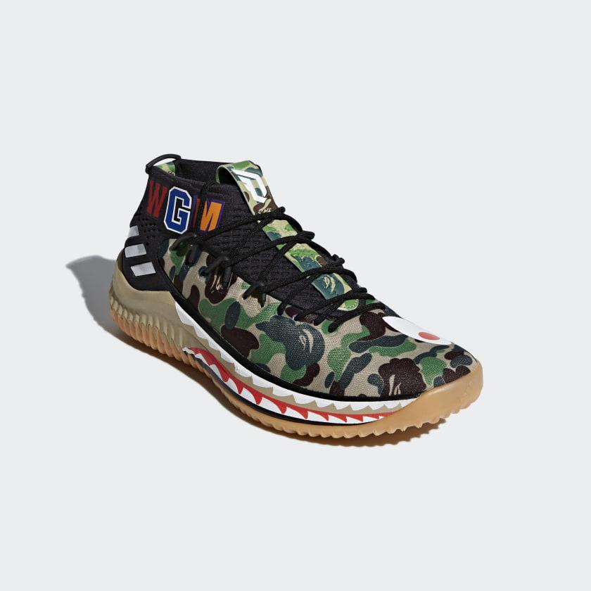 Dame 4  BAPE Shoes