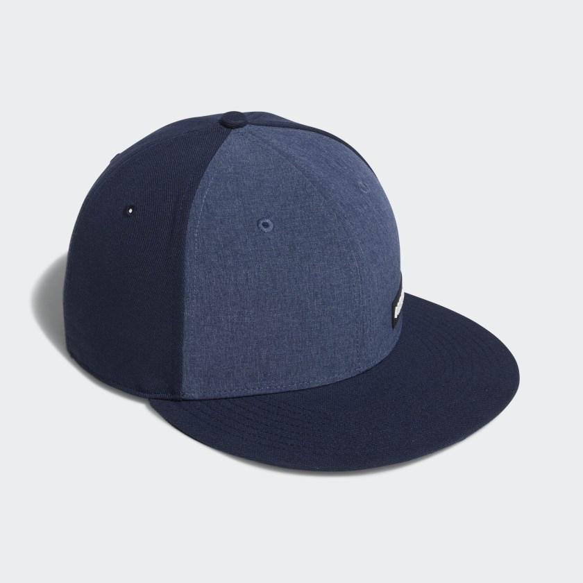 Heathered Flat-Bill Hat