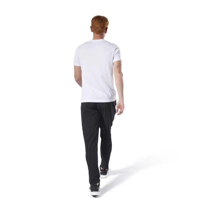 Reebok-Men-039-s-Linear-Read-Tee thumbnail 3