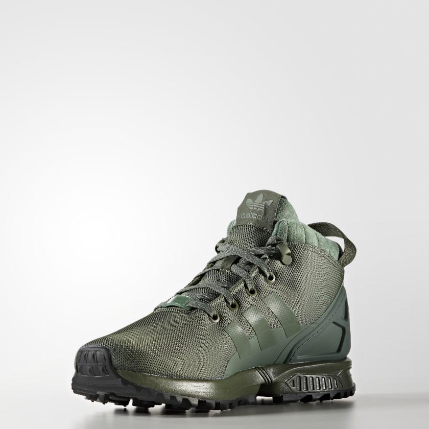 adidas Obuv ZX Flux 5 8 TR - zelená  79ee033576