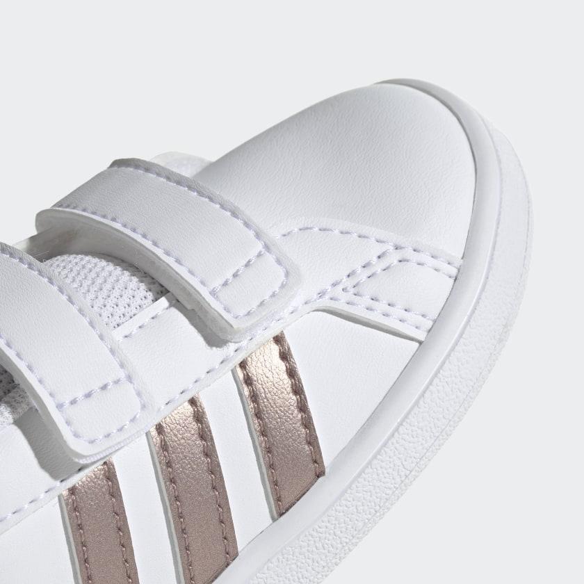 adidas-Grand-Court-Shoes-Kids-039 thumbnail 16