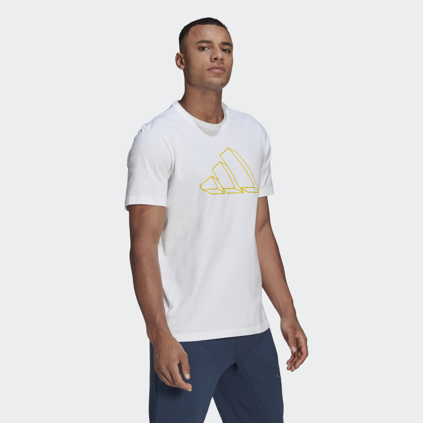 thumbnail 10 - adidas  Sportswear Graphic Tee Men's