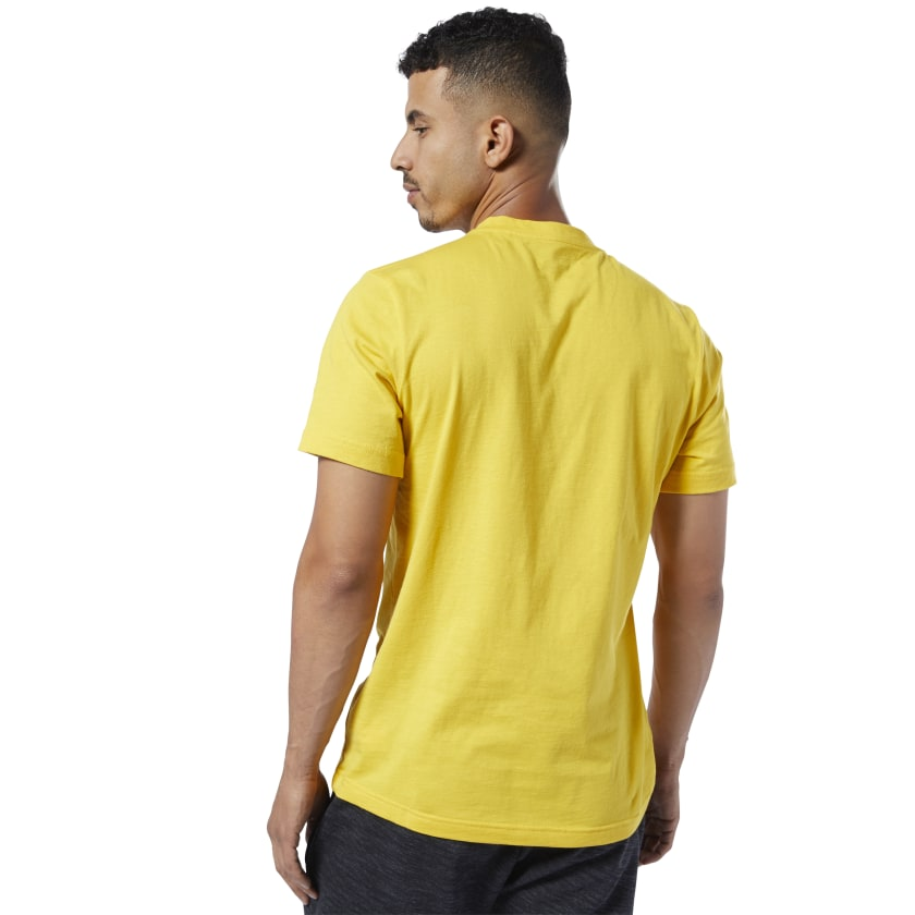 Reebok-Men-039-s-Linear-Read-Tee thumbnail 49
