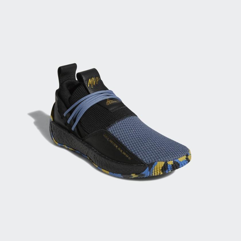 James Harden Gold Shoes: Adidas Harden LS 2 MVP Shoes - Black