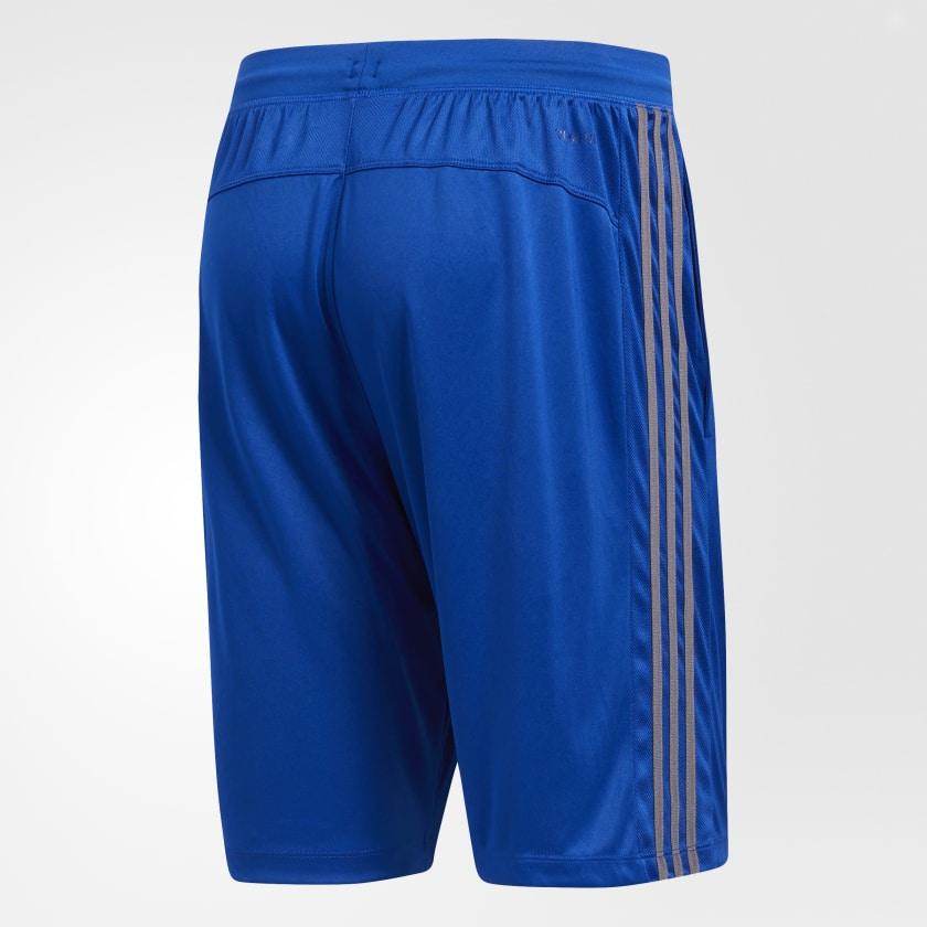 adidas-D2M-3-Stripes-Shorts-Men-039-s thumbnail 48