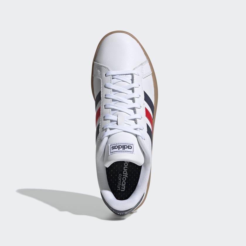 adidas-Originals-Grand-Court-Shoes-Men-039-s thumbnail 17