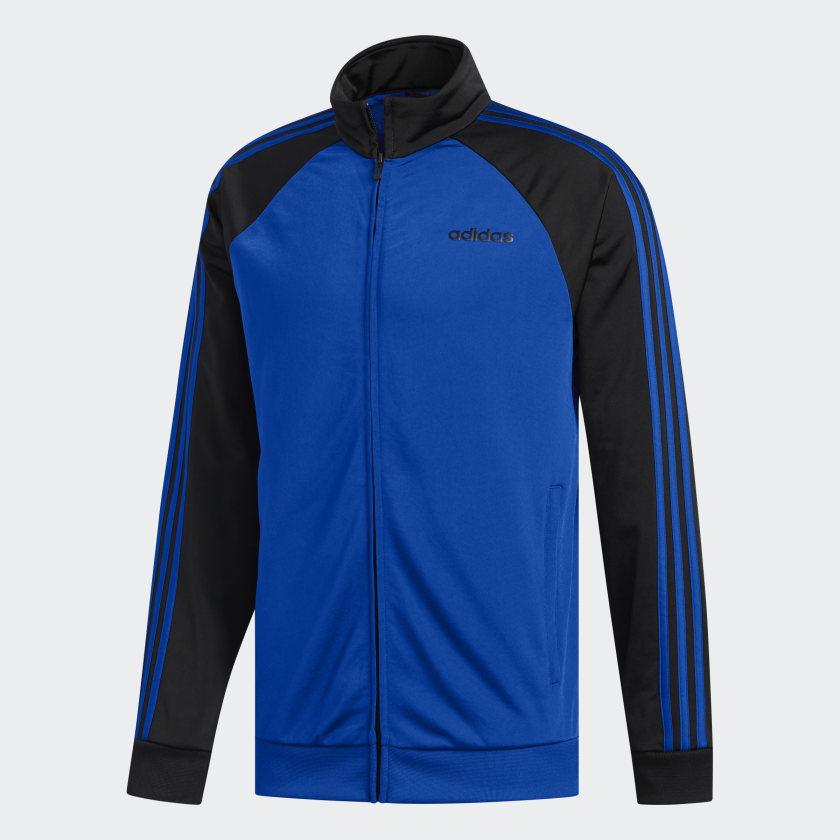 adidas-Essentials-3-Stripes-Track-Jacket-Men-039-s thumbnail 19