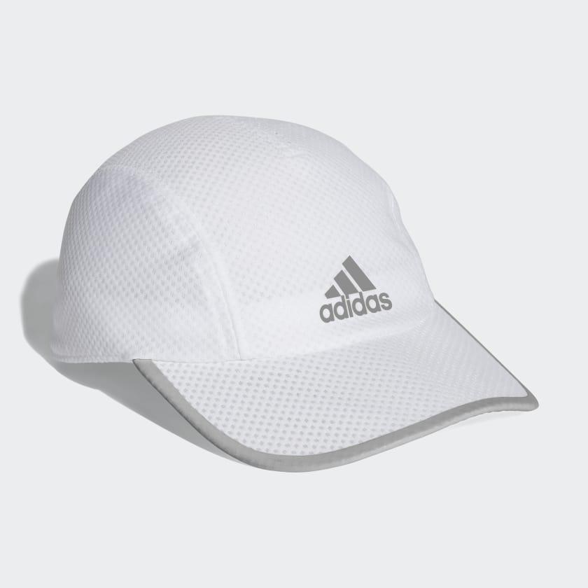 adidas Kšiltovka Climacool Running - bílá  4ee0abe90f