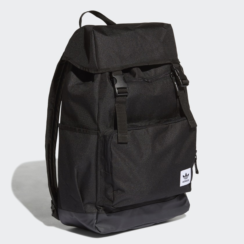 adidas Top-Loader Backpack - Black   adidas US e1edbbaaf6