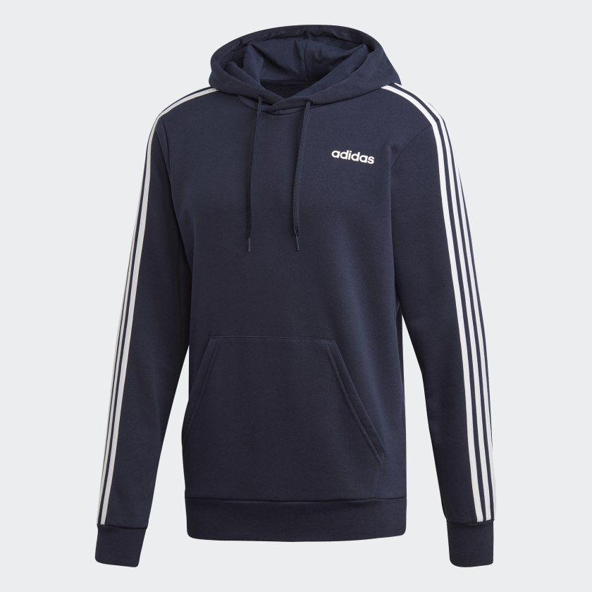 adidas-Essentials-3-Stripes-Hoodie-Men-039-s thumbnail 23