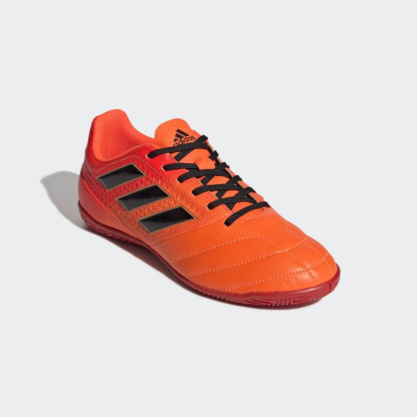 Chuteira Ace 17.4 Futsal Infantil - Laranja adidas  e8db74f4e1391