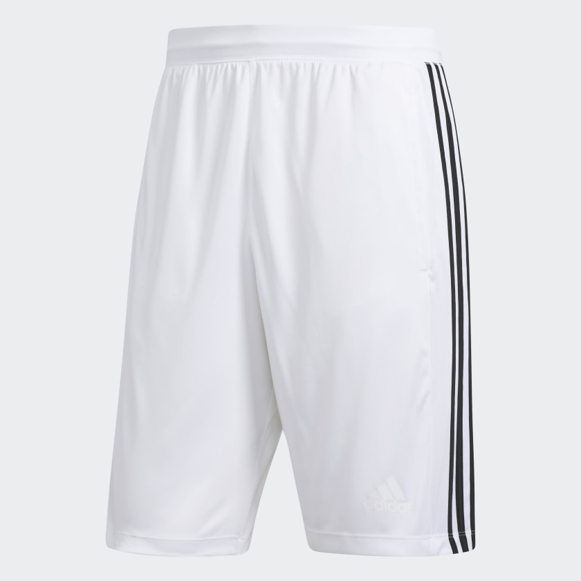 adidas-D2M-3-Stripes-Shorts-Men-039-s thumbnail 20