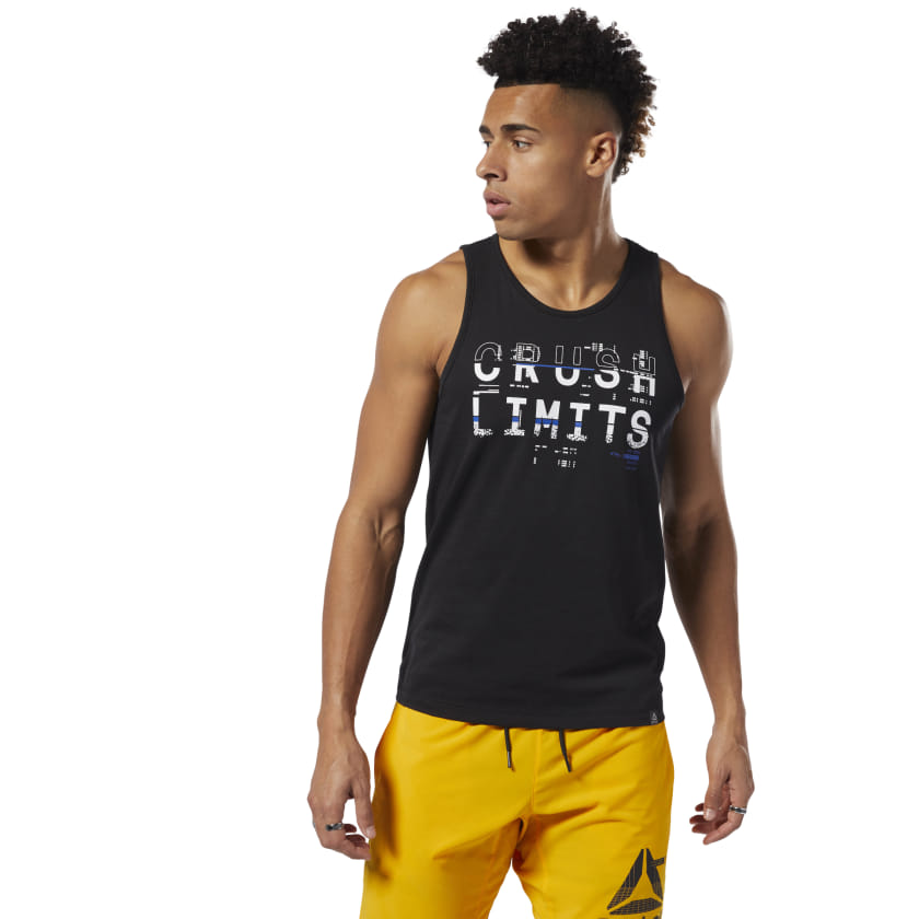 Reebok-Men-039-s-Crush-Limits-Tank-Top thumbnail 6