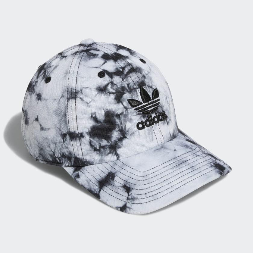 Relaxed Tie-Dye Strap-Back Hat