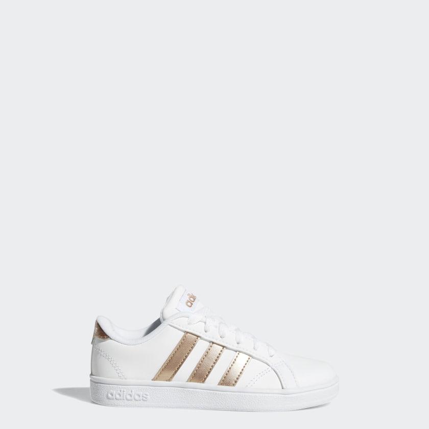 adidas-Baseline-Shoes-Kids-039 thumbnail 14