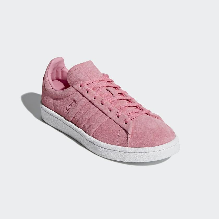 brand new 08cd1 a84f9 B22717 ce0ffcd435fa6 adidas Campus Stitch and Turn sko - Pink adidas  Denmark ...