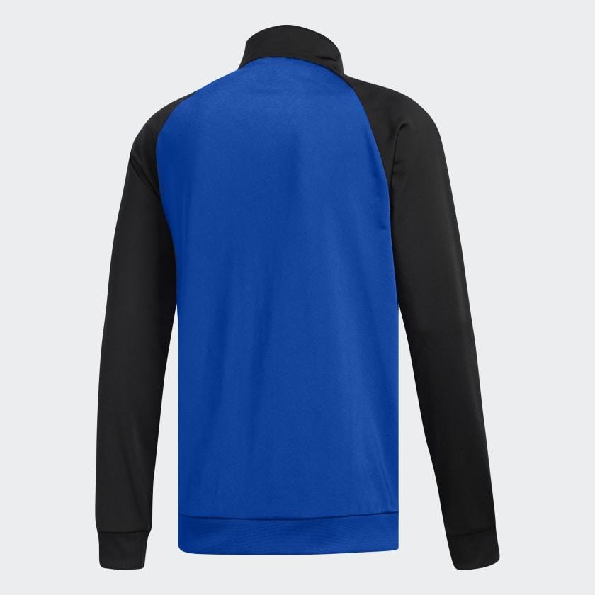 adidas-Essentials-3-Stripes-Track-Jacket-Men-039-s thumbnail 21