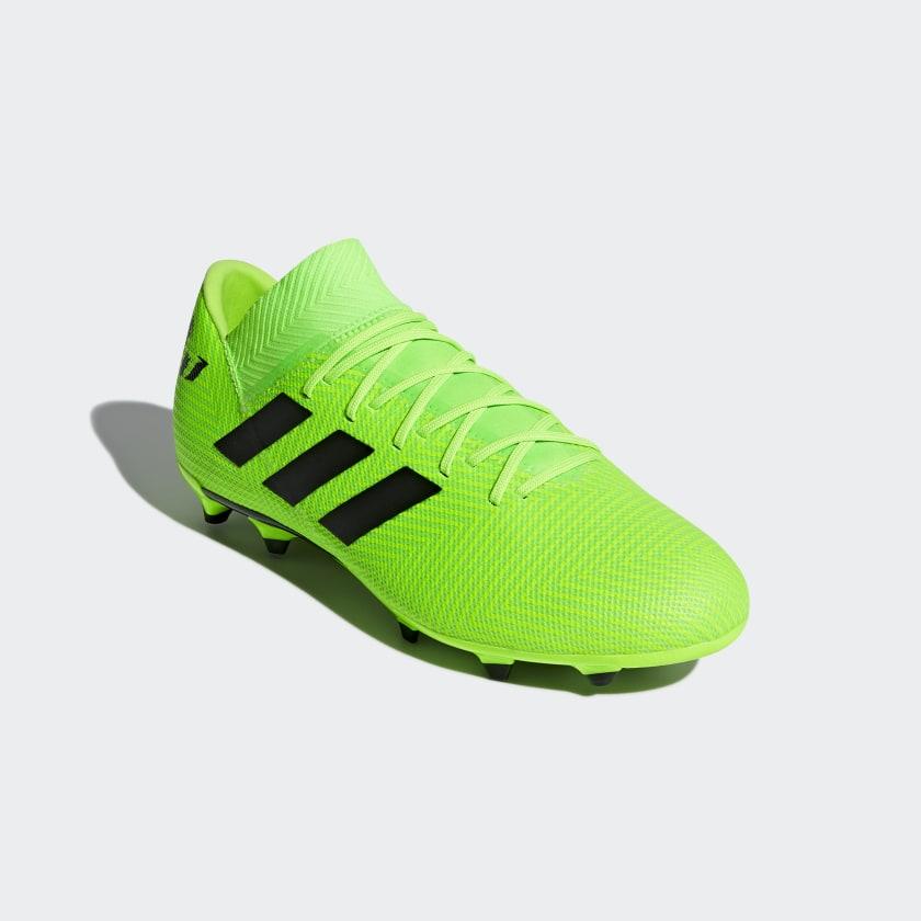 Calzado de Fútbol Nemeziz Messi 18.3 Terreno Firme