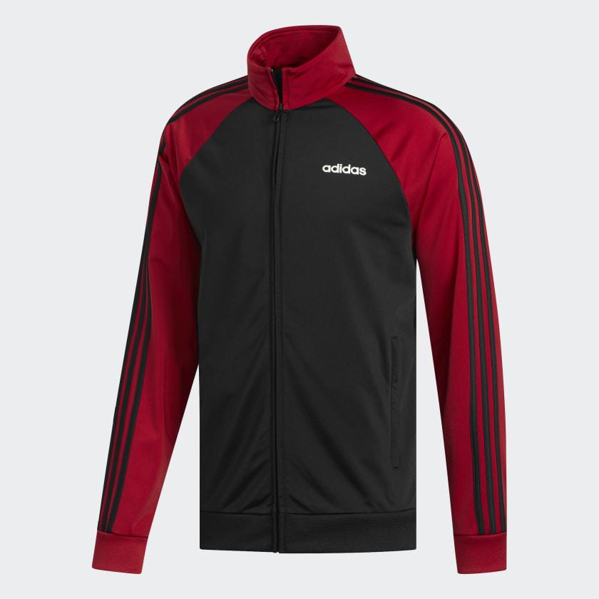 adidas-Essentials-3-Stripes-Track-Jacket-Men-039-s thumbnail 28