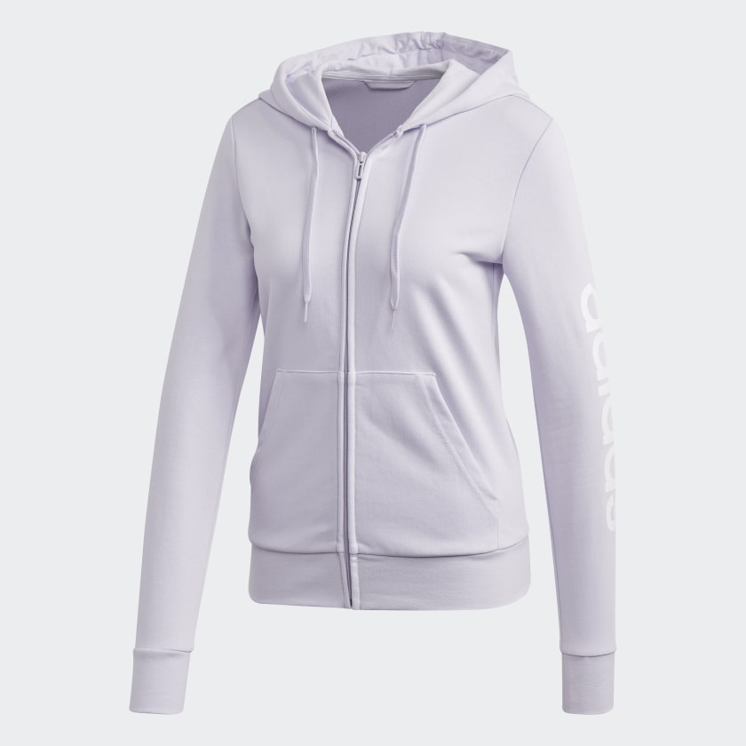 adidas-Essentials-Linear-Hoodie-Women-039-s thumbnail 36