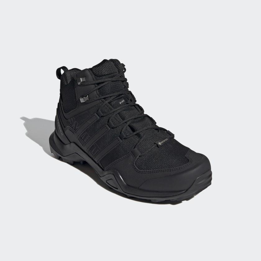 adidas Obuv Terrex Swift R2 Mid GTX - černá  15b867772a