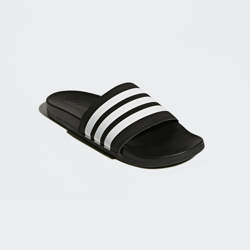 Chinelo Adilette Cloudfoam Plus Stripes