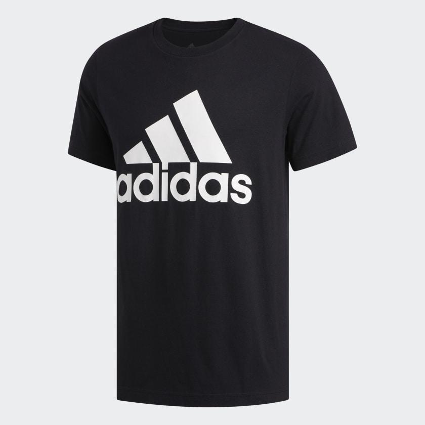 adidas-Badge-of-Sport-Tee-Men-039-s thumbnail 18