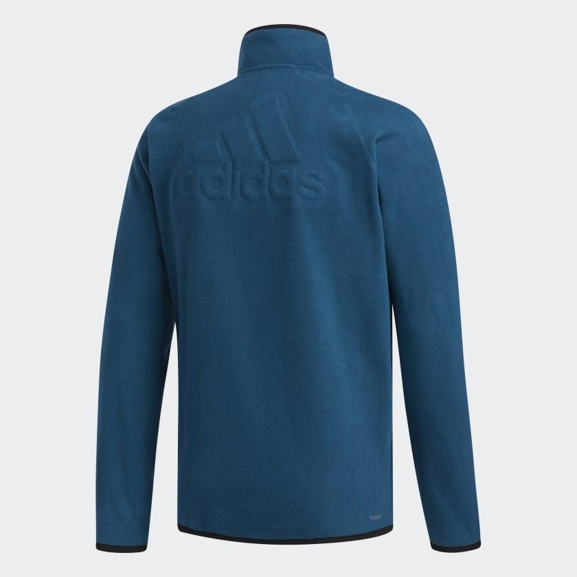 adidas-FreeLift-3-Stripes-Polarfleece-Sweatshirt-Men-039-s thumbnail 24