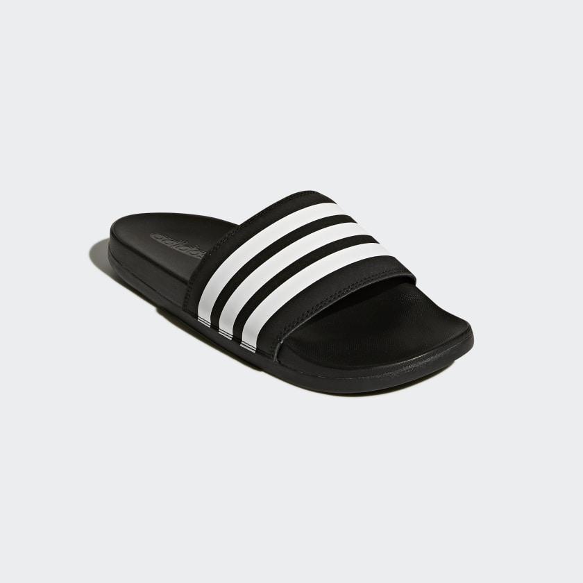 Sandalias Adilette Cloudfoam Plus Stripes