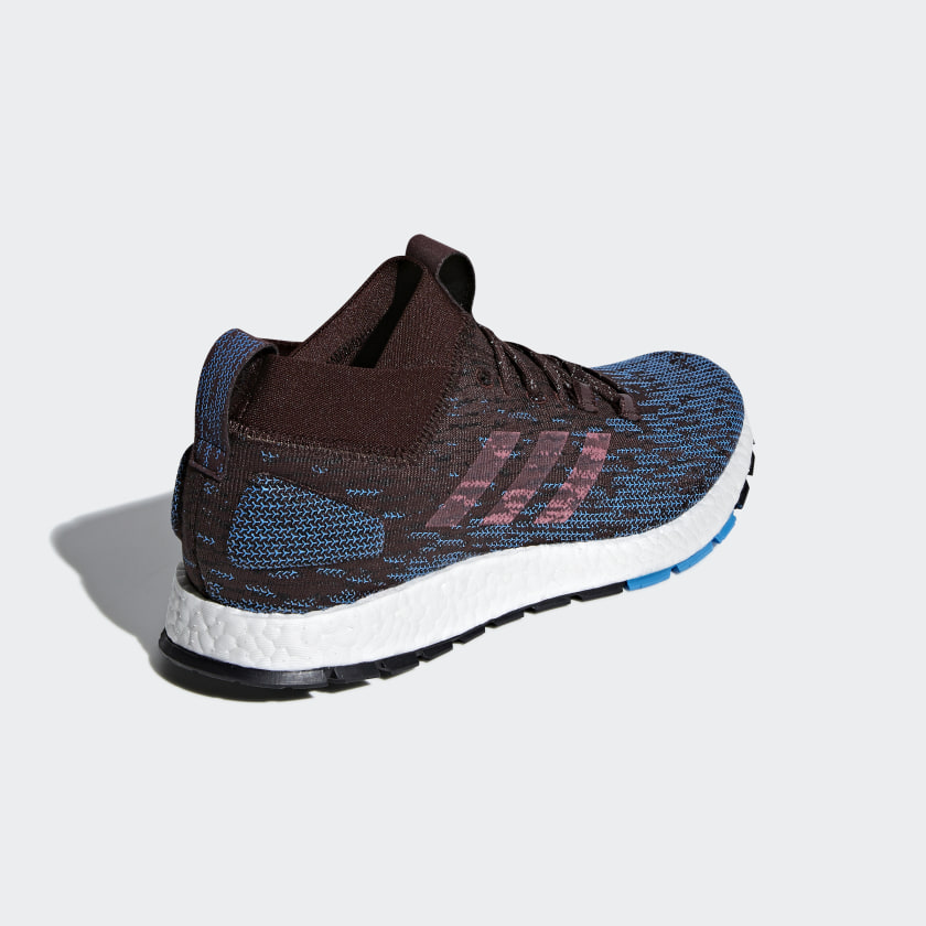 Men's Running Adidas Pureboost RBL Shoes BrownGrey F35782