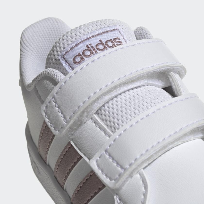 adidas-Grand-Court-Shoes-Kids-039 thumbnail 14