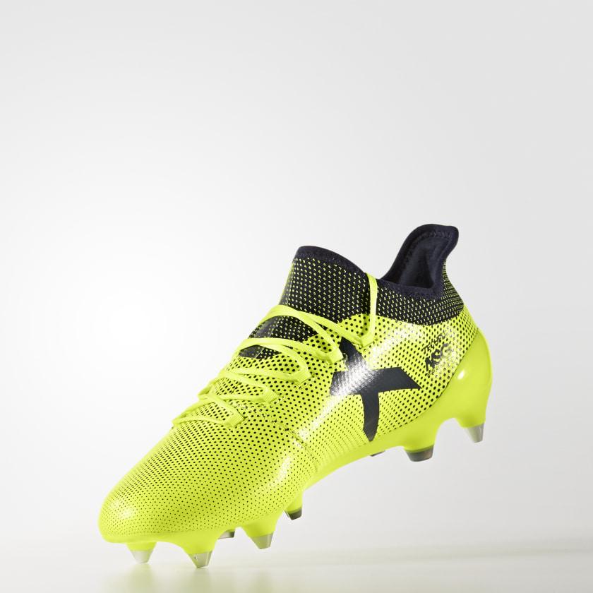 Chuteira X 17.1 Sg - Amarelo adidas  3abee34dbd6e0