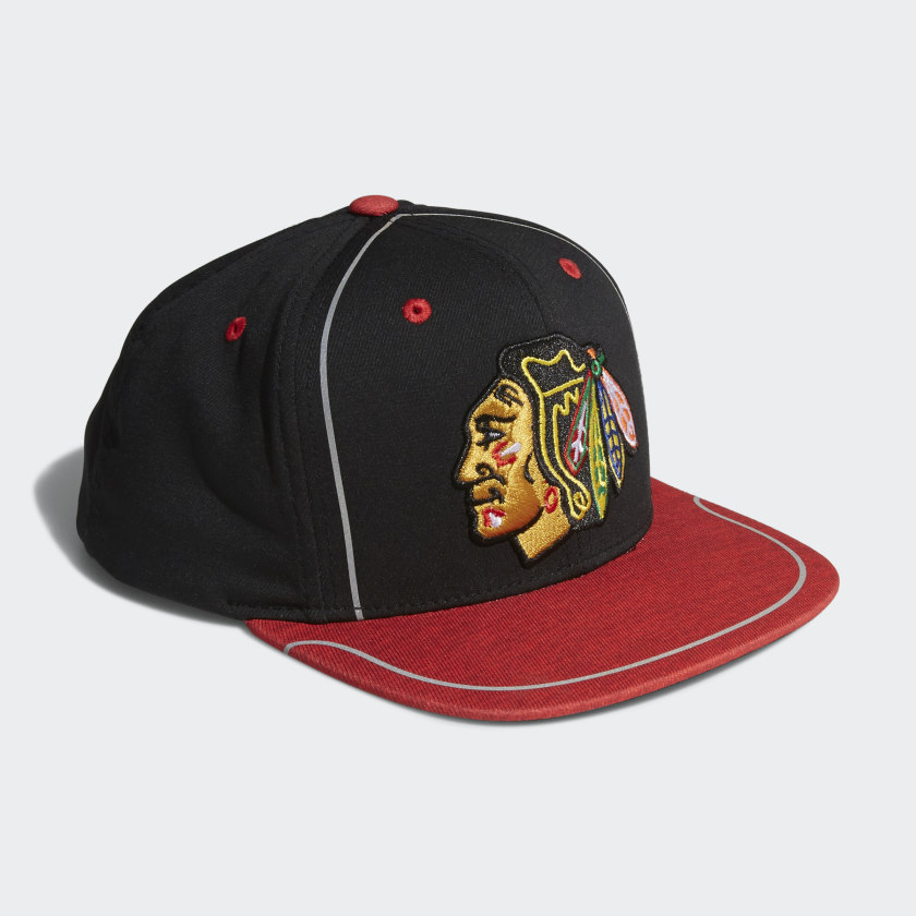 Blackhawks Flat Brim Hat