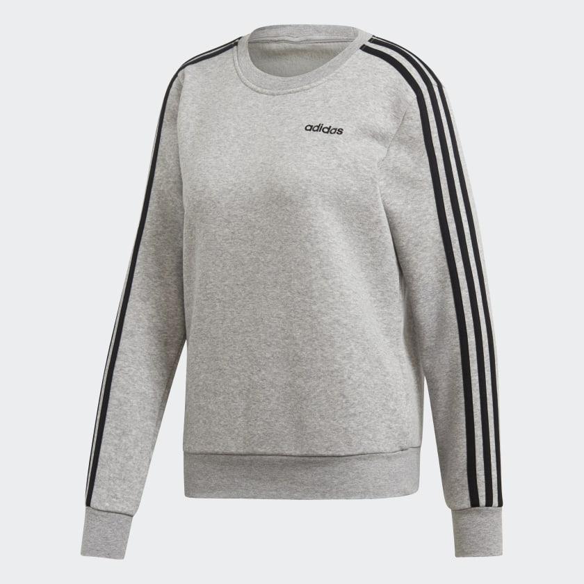 adidas-Essentials-3-Stripes-Sweatshirt-Women-039-s thumbnail 27