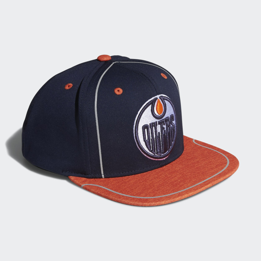 Oilers Flat Brim Hat