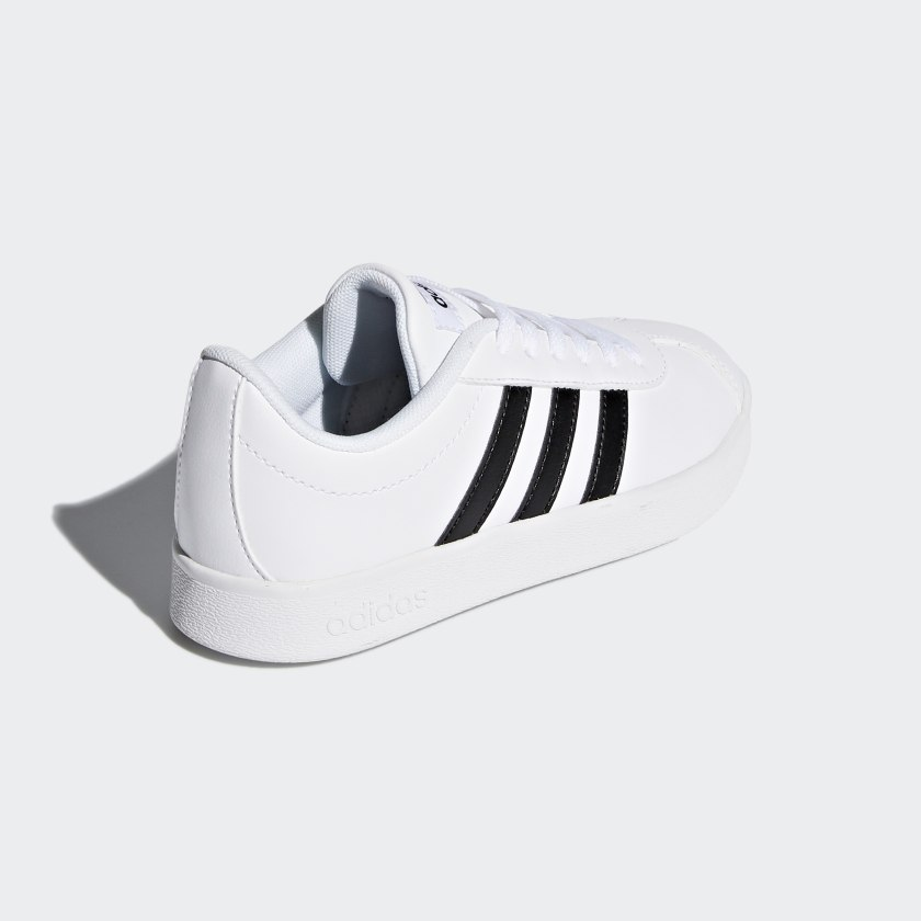 adidas-VL-Court-2-0-Shoes-Kids-039 thumbnail 18