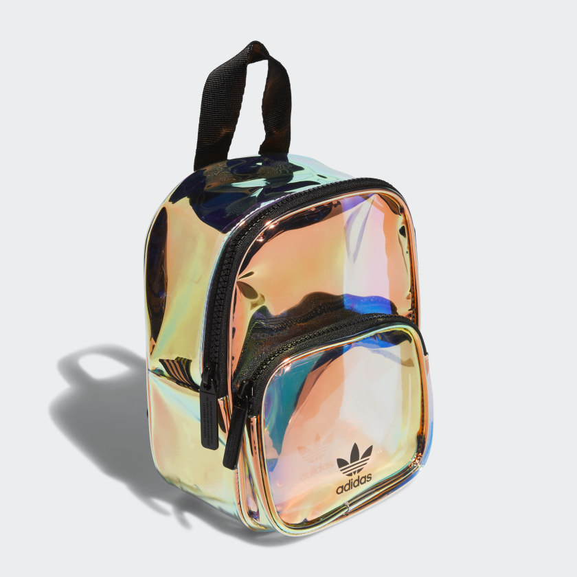 Mini Iridescent Backpack