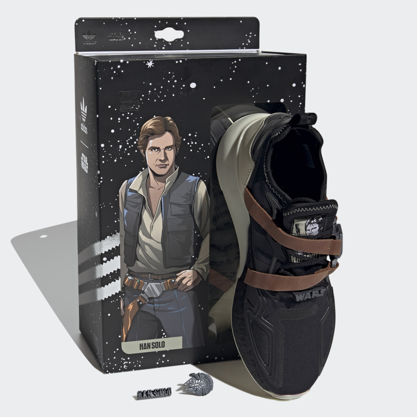 thumbnail 11 - adidas Originals Star Wars ZX 2K Boost Shoes Men's