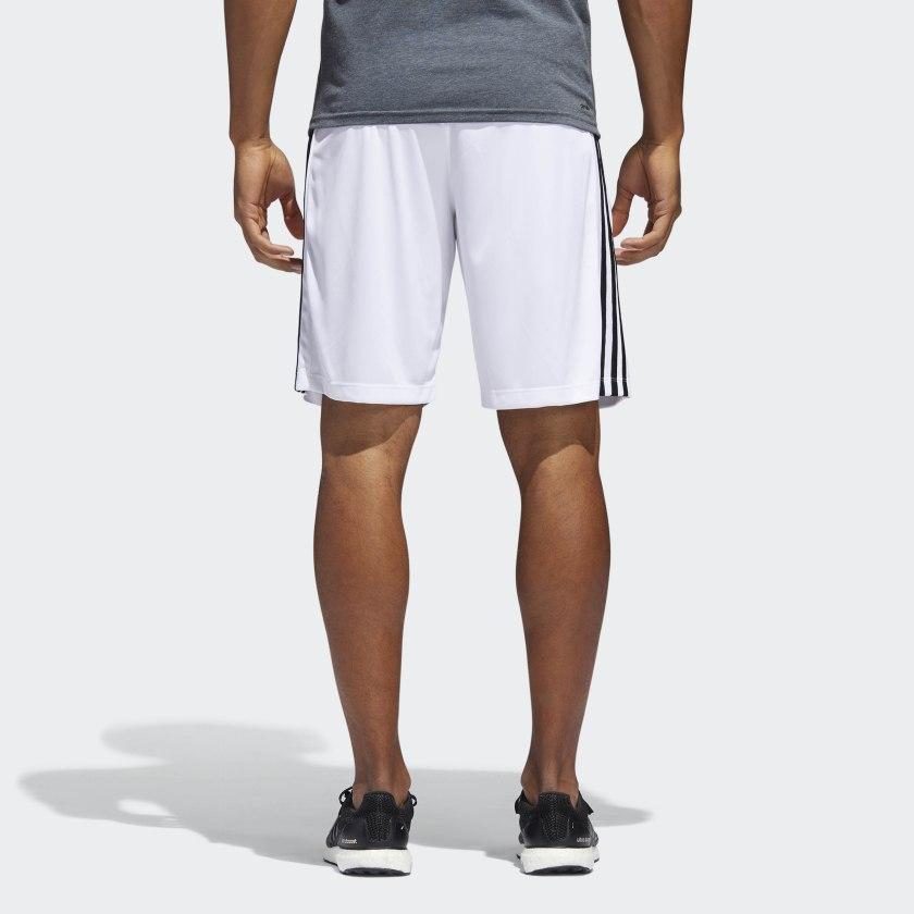 adidas-D2M-3-Stripes-Shorts-Men-039-s thumbnail 21