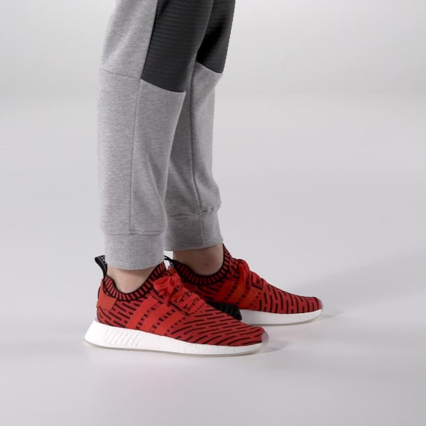 free shipping 0a8a7 6f3cd adidas NMD R2 Primeknit Shoes - Red   adidas US